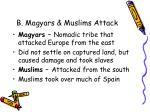 b magyars muslims attack