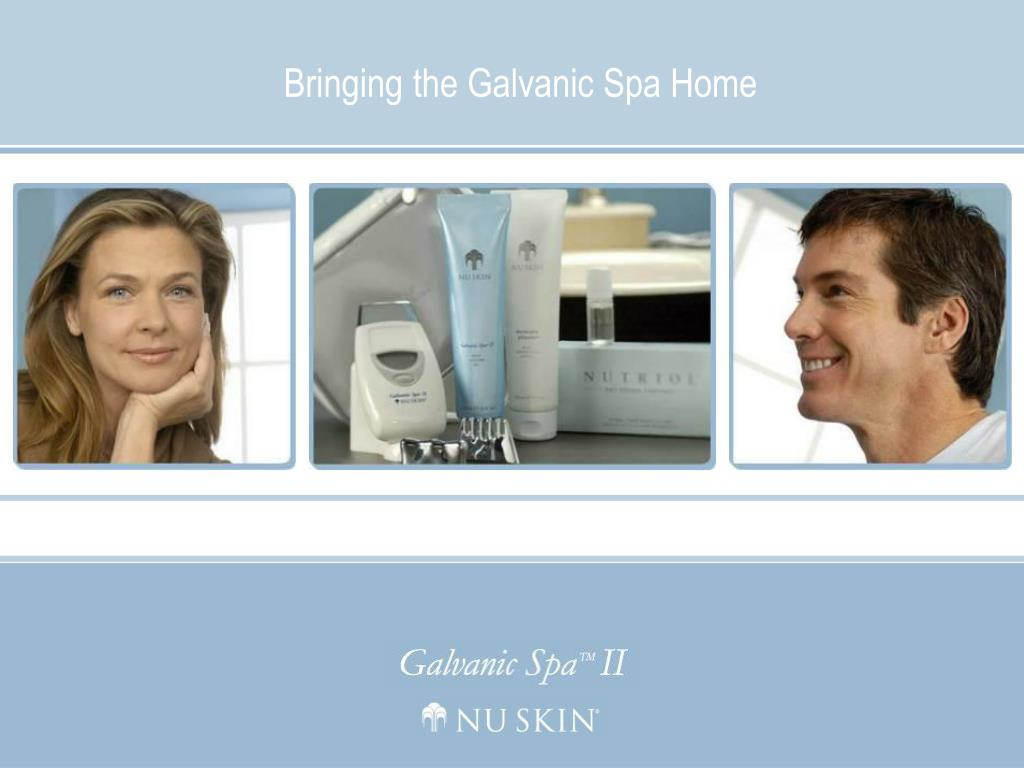 bringing the galvanic spa home l.