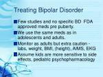 treating bipolar disorder27