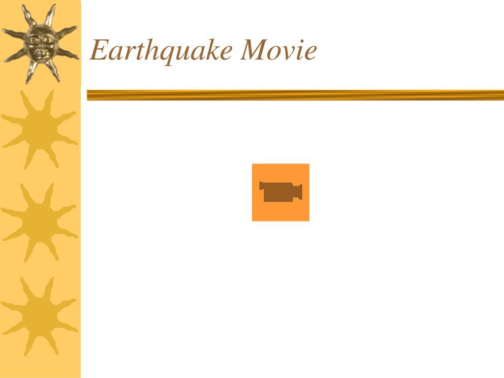 earthquake movie l.