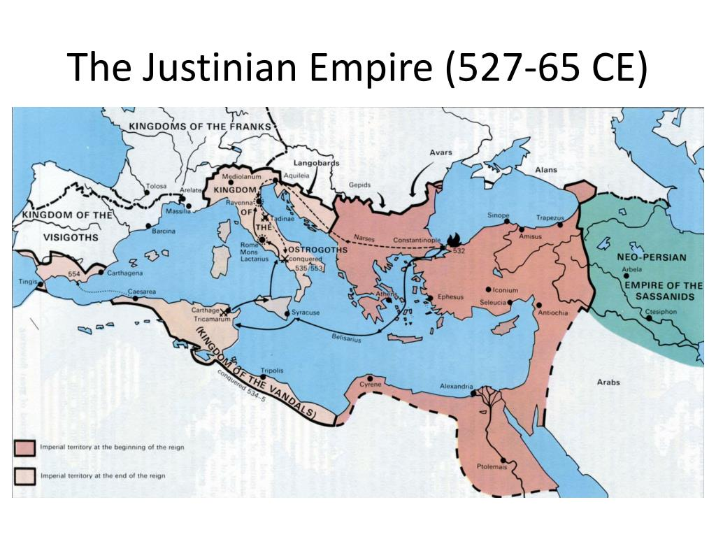 The Justinian Empire (527-65 CE)