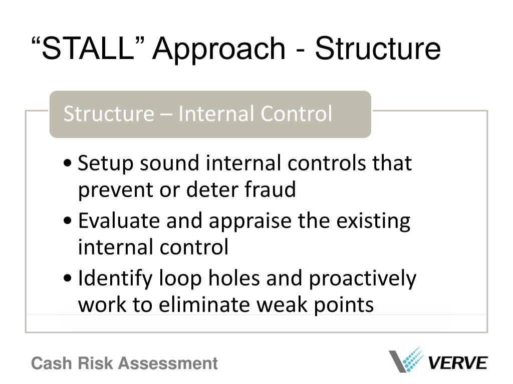 """""""STALL"""" Approach - Structure"""