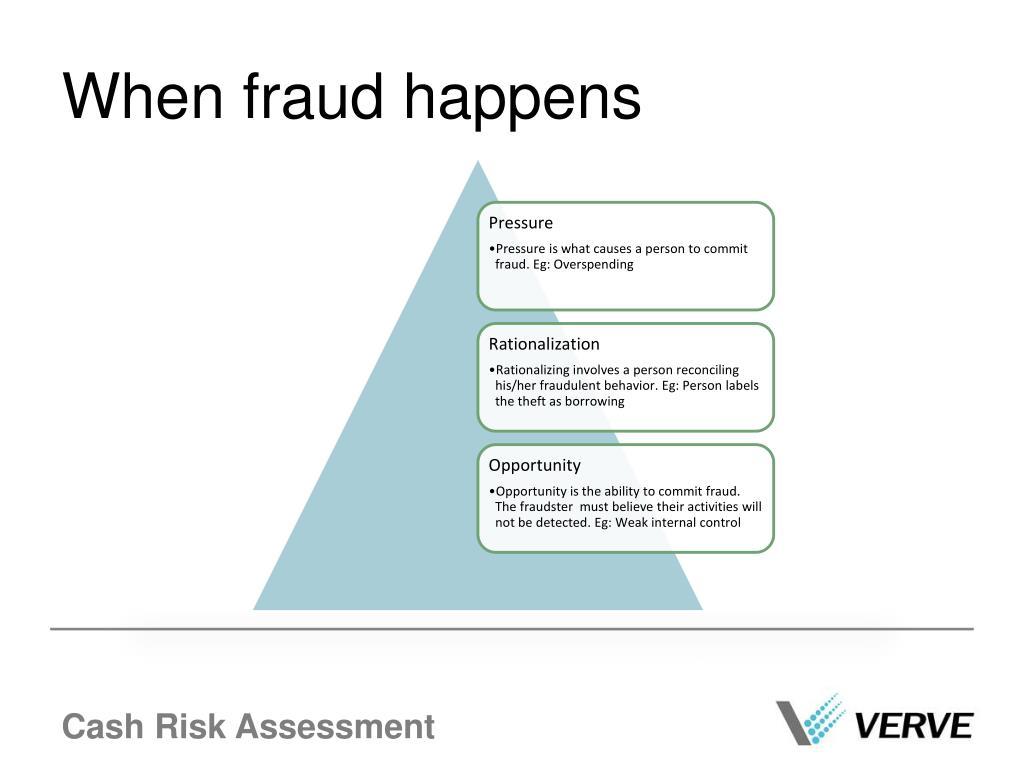 When fraud happens