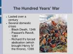 the hundred years war26