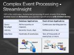 complex event processing streaminsight