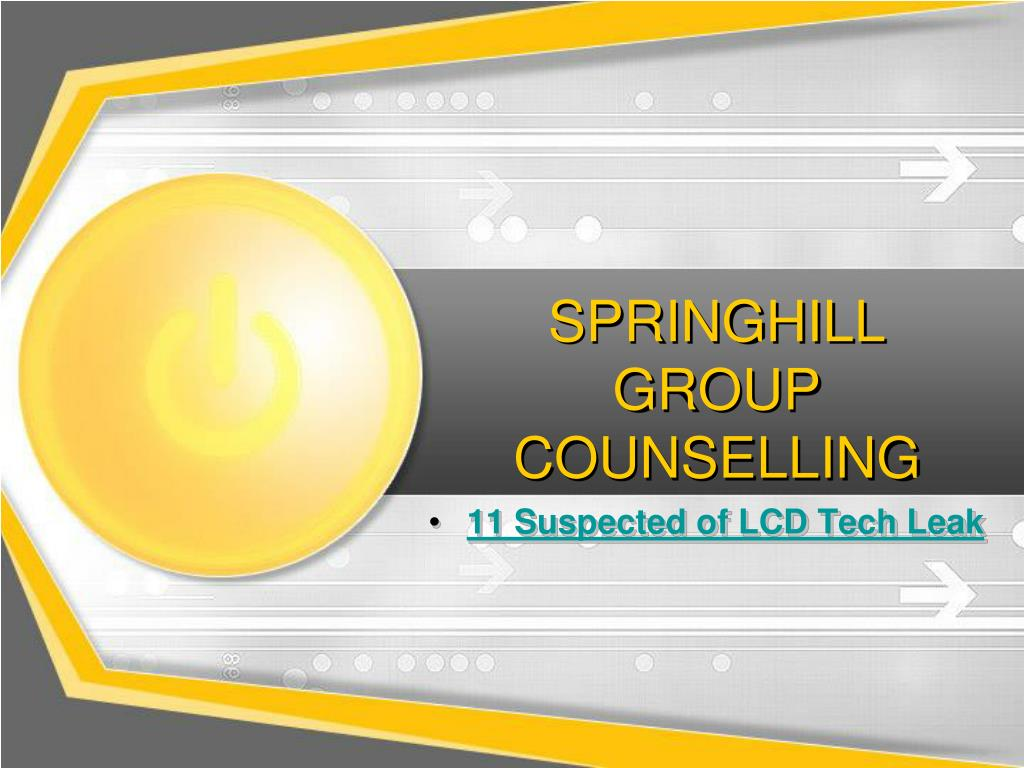 springhill group counselling l.