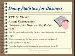 doing statistics for business16
