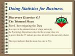 doing statistics for business17