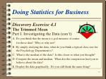 doing statistics for business19