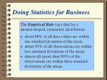 doing statistics for business32