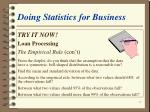 doing statistics for business37