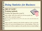 doing statistics for business48