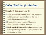 doing statistics for business67