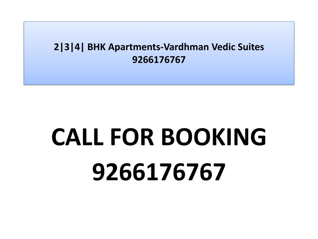 2 3 4 bhk apartments vardhman vedic suites 9266176767 l.