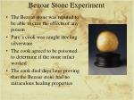 bezoar stone experiment