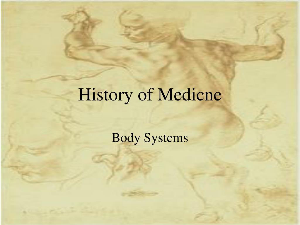 history of medicne l.