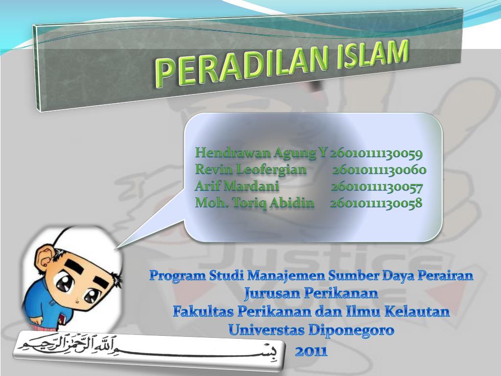 peradilan islam l.