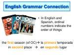 english grammar connection