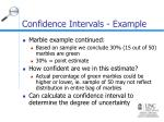 confidence intervals example10