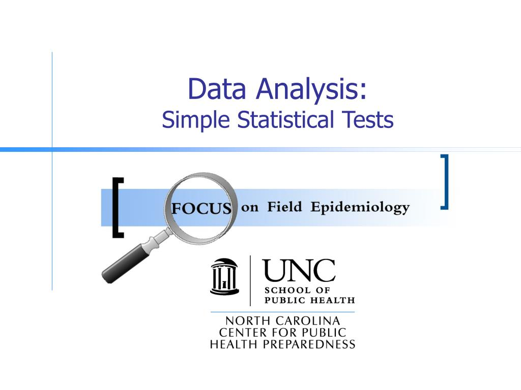data analysis simple statistical tests l.