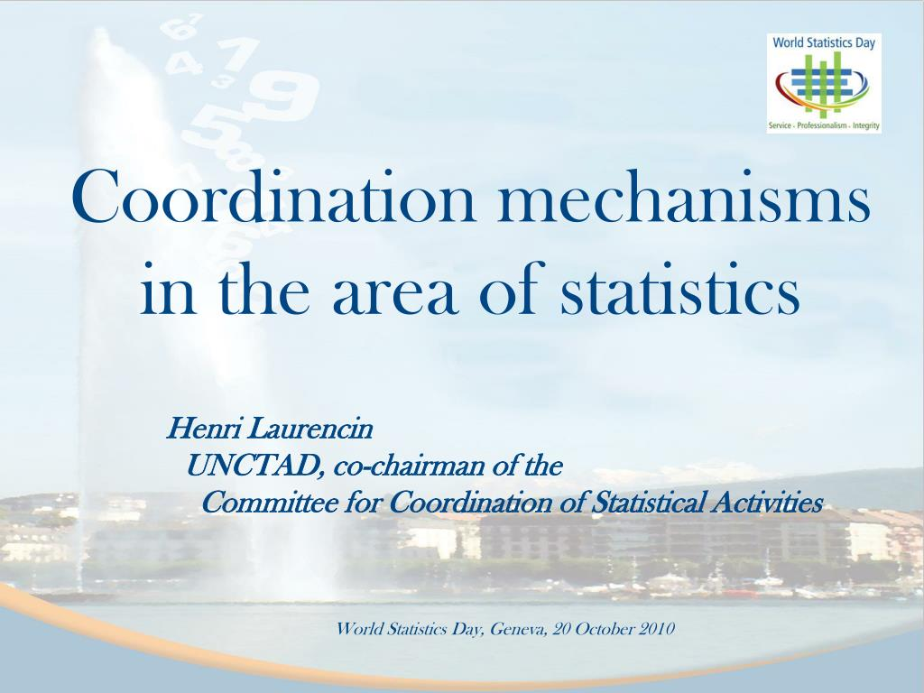 coordination mechanisms in the area of statistics l.
