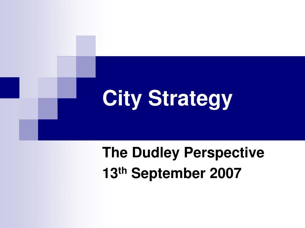 city strategy l.