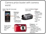 camera price buster with camera world