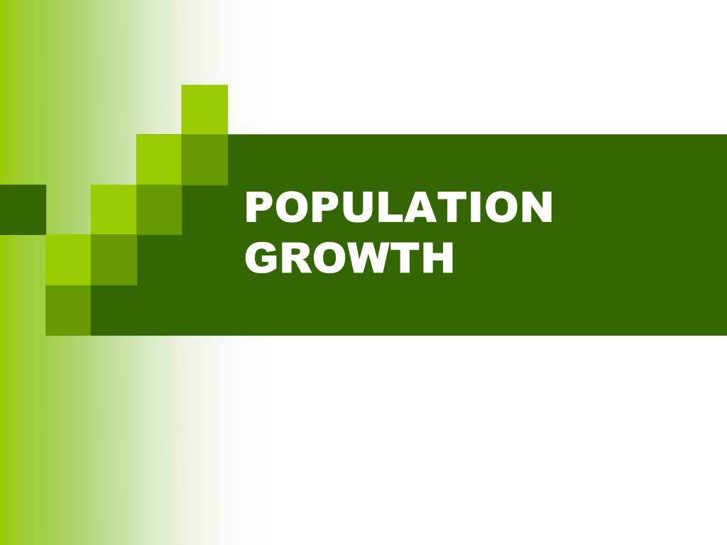 population growth l.