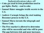 industrialization takes off