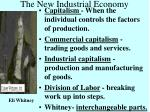 the new industrial economy