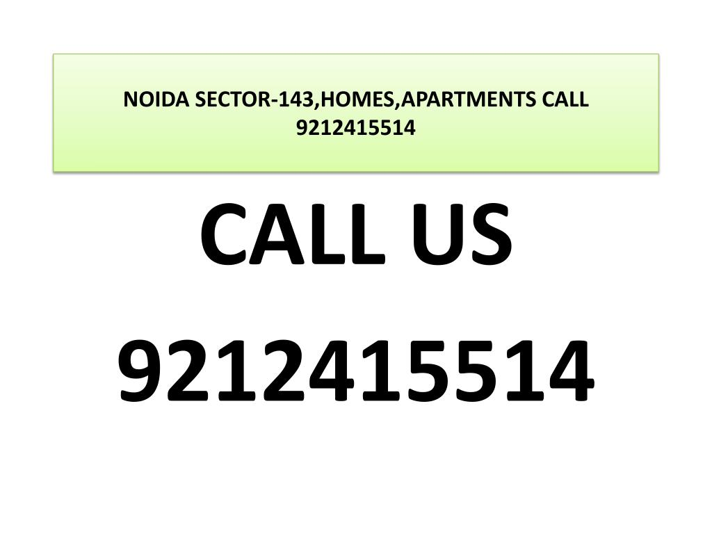 noida sector 143 homes apartments call 9212415514 l.