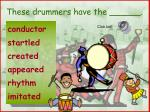 these drummers have the
