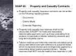ssap 65 property and casualty contracts