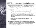 ssap 65 property and casualty contracts14