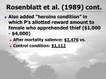 rosenblatt et al 1989 cont