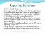 reporting database18