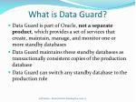 what is data guard