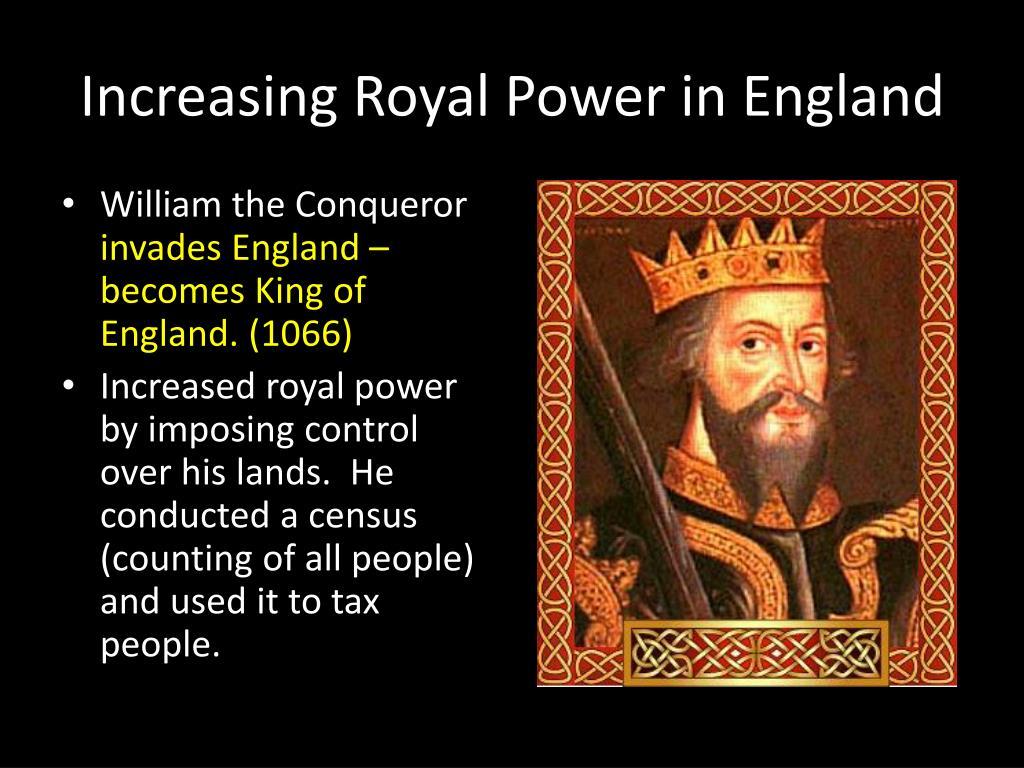 Increasing Royal Power in England