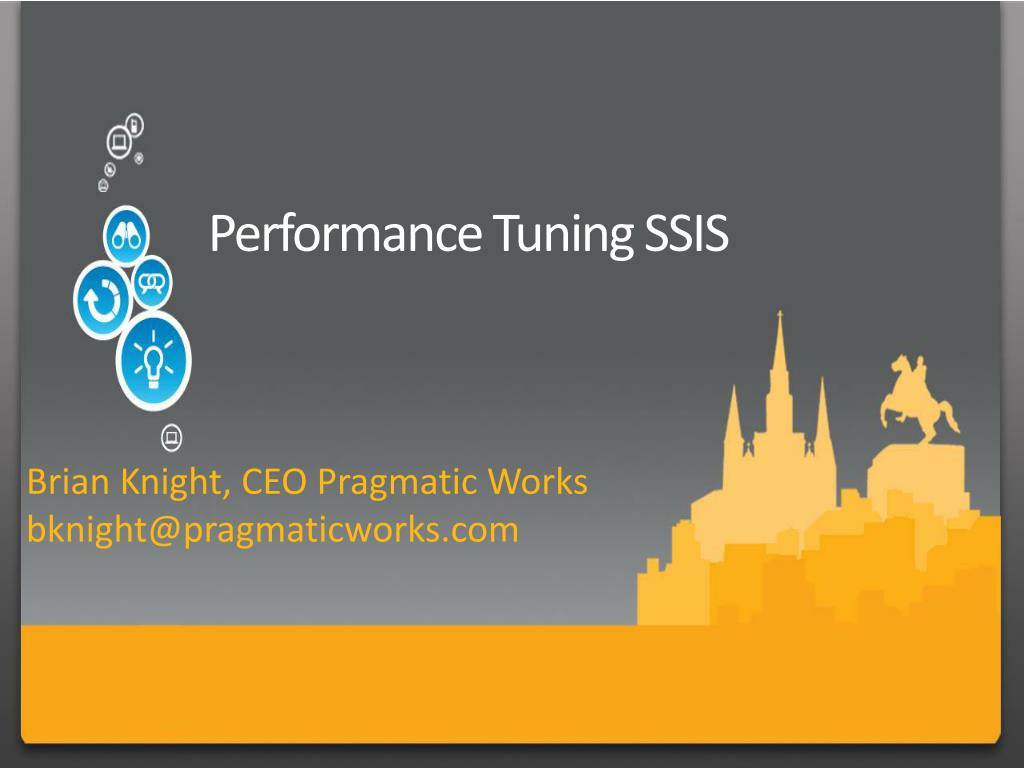 performance tuning ssis l.