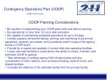 contingency operations plan coop fema coop course11