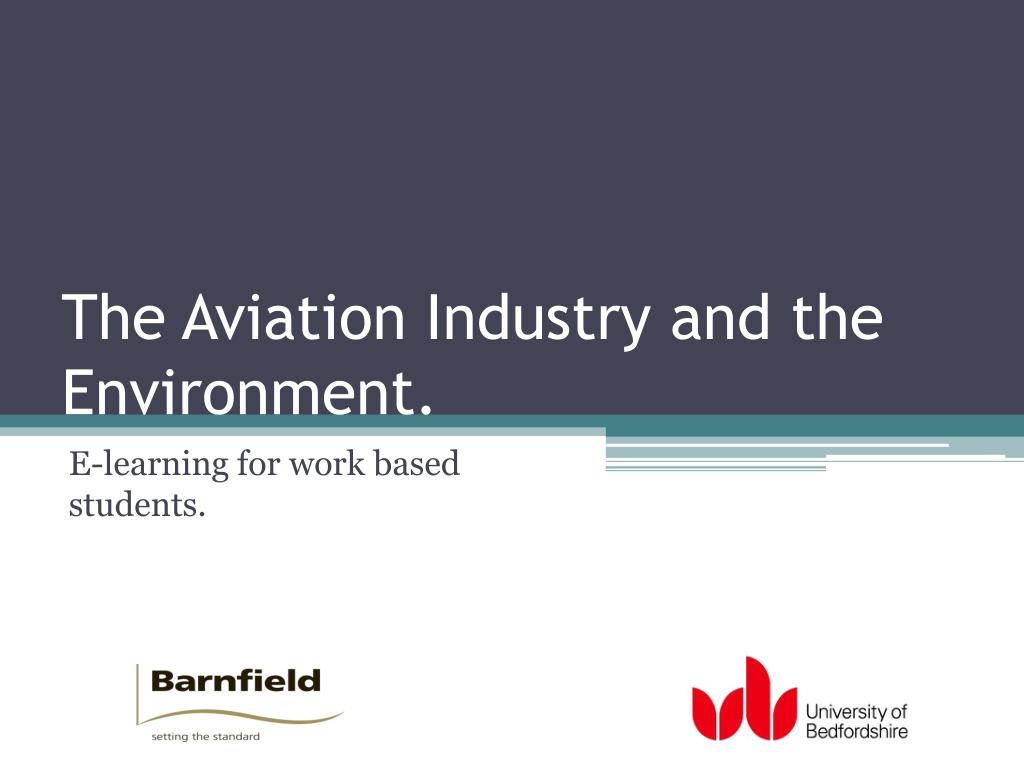 the aviation industry and the environment l.