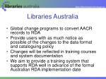 libraries australia24