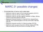 marc 21 possible changes17