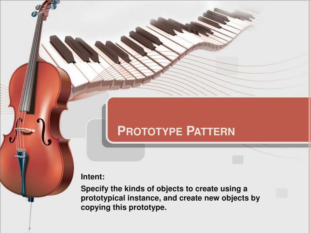 prototype pattern l.