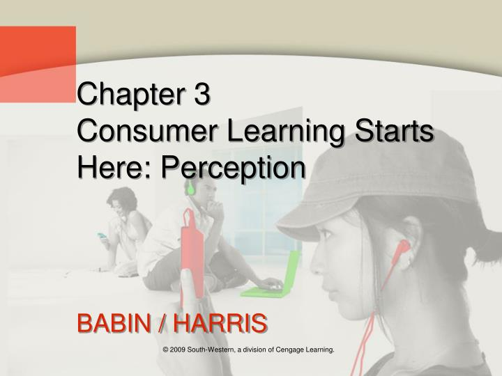 consumer learning starts here perception Perception is the process of recognizing and  what is perception in psychology - definition  what is perception in psychology - definition & theory related.