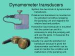 dynamometer transducers