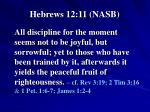 hebrews 12 11 nasb