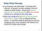 state data storage