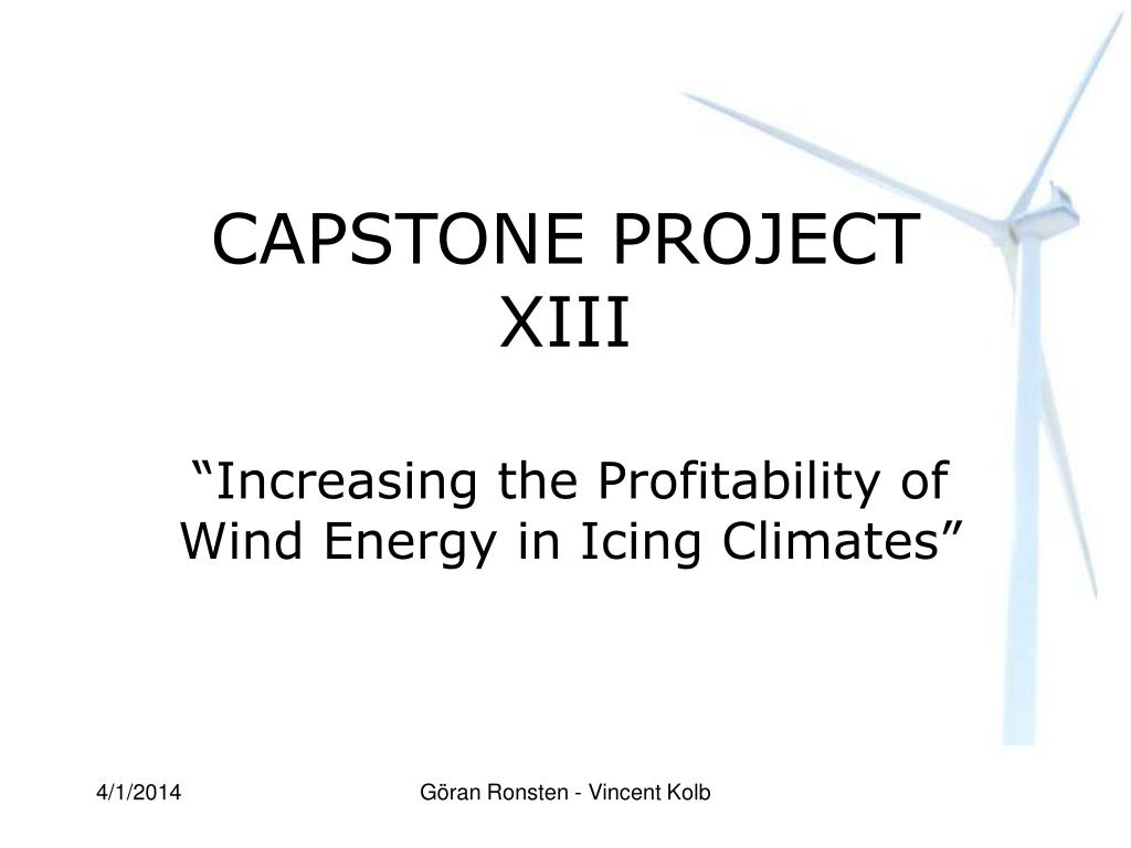 capstone project xiii l.