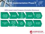 xbrl implementation phase 1